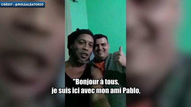 Le message de Ronaldinho depuis la prison
