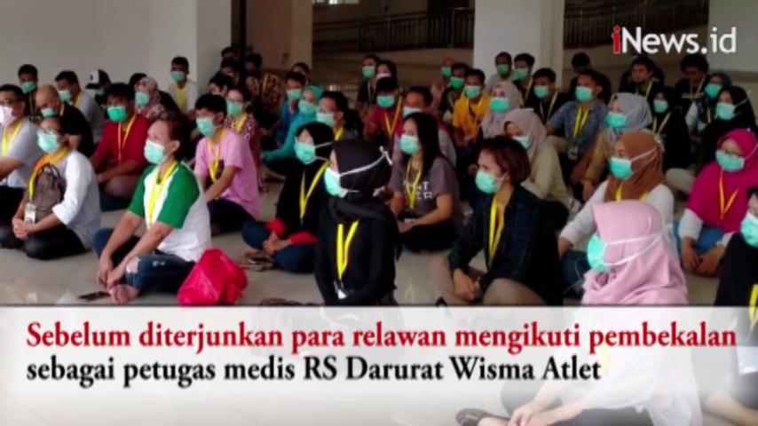 250 Relawan Diterjunkan sebagai Tenaga Perawat di RS Darurat Wisma Atlet