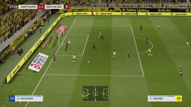 Borussia Dortmund - Hertha Berlin : notre simulation FIFA 20 (Bundesliga - 30e journée)