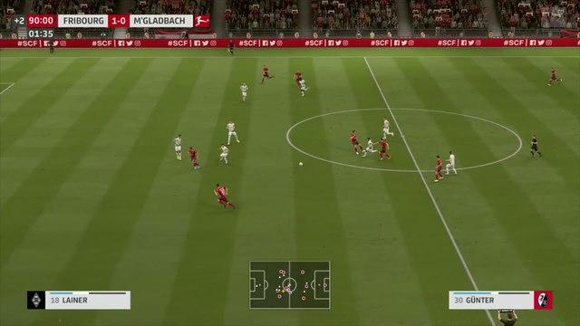 SC Fribourg - Borussia M'Gladbach : notre simulation FIFA 20 (Bundesliga - 30e journée)