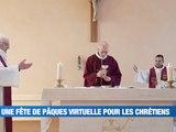 Une fête de Pâques... virtuelle ! -  Reportage TL7 - TL7, Télévision loire 7