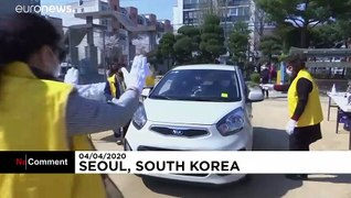 South Korea church holds drive-in service amid new outbreak