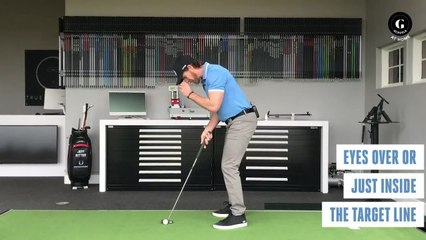 Keep Your Eyes on the Ball With This Putting Drill