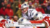 Tom Brady Moment No. 6: Leads Patriots To Thrilling AFC Championship Win Over Chiefs