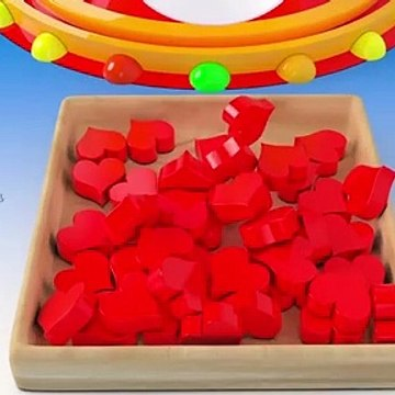 Learn Colors With Dump Truck Dumping Soccer Balls for Kids