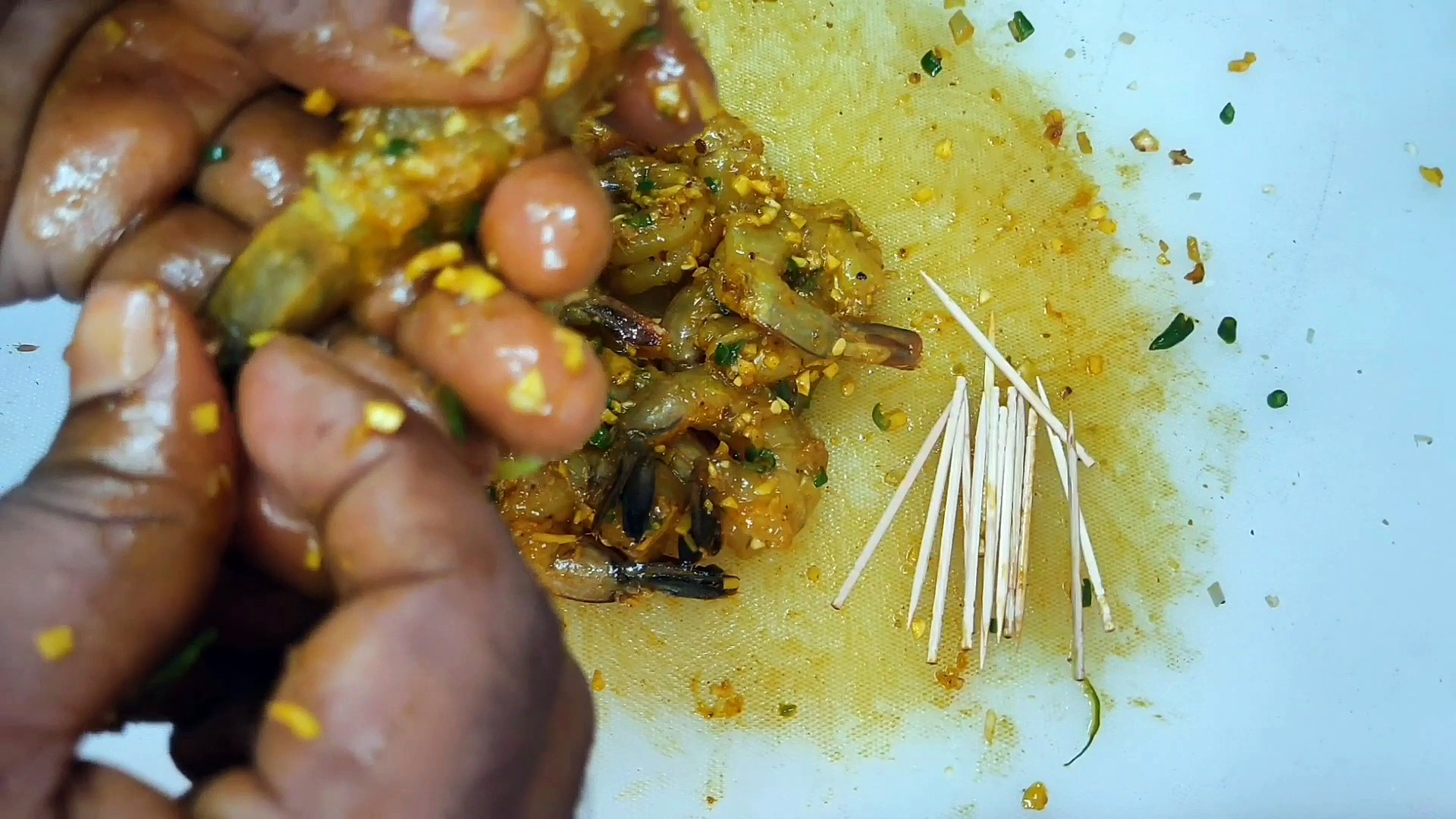 HOW TO MAKE PRAWNS AT HOME |PRAWNS MAKING INDIAN STYLE