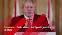 Coronavirus : Boris Johnson, testé positif, en soins intensifs