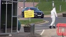 Coronavirus 'hot hub' assessment centre opens at University of Derby, UK