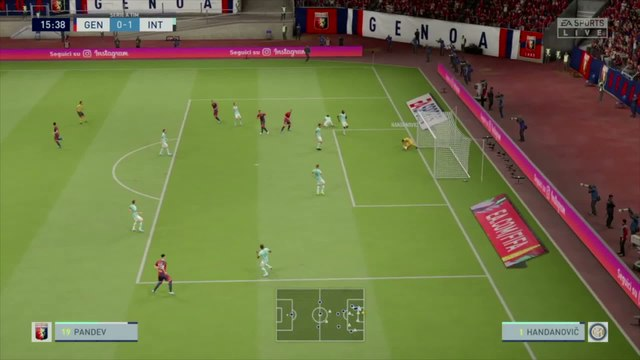 Genoa CFC - Inter Milan  : notre simulation FIFA 20 (Serie A - 36e journée)