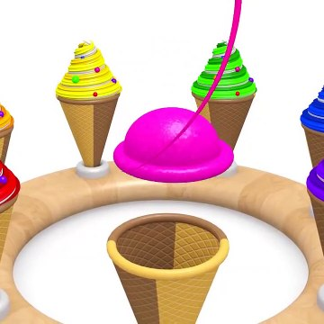 Learning Colors and Numbers on 3D WOODEN BASE for preschool education for kids children