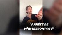 """Raphaël interrompu en plein live par Mélanie Thierry qui doit """"faire à bouffer"""""""