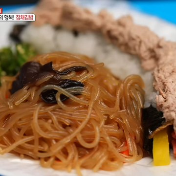 [TASTY] The happiness of 2,500 won! Japchae Gimbap, 생방송 오늘 저녁 20200407