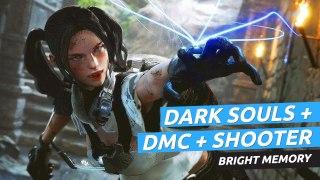 Gameplay de Bright Memory, el shooter chino más cinemático