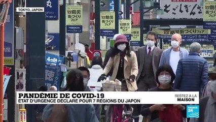 Coronavirus : Au Japon, état d'urgence ne rime pas avec mesures coercitives