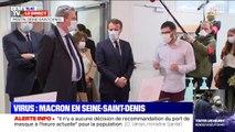 Emmanuel Macron est à Pantin en Seine-Saint-Denis, où il doit notamment rencontrer des soignants