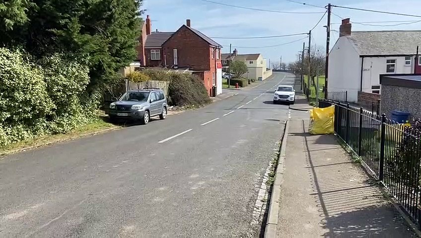 Scene of 13-hour police standoff in Easington Colliery