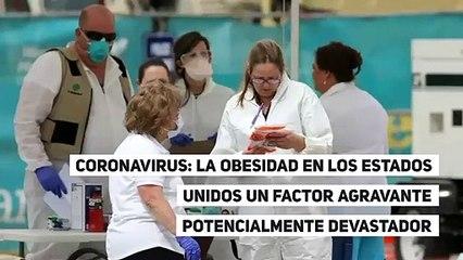 Coronavirus: La obesidad en los Estados Unidos un factor agravante potencialmente devastador
