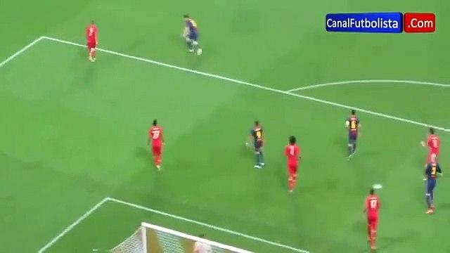 Le jour où Ribéry a envoyé Messi sur les fesses d'un dribble parfait