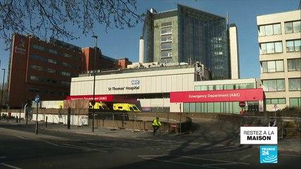 """Coronavirus : Boris Johnson dans un """"état stable"""" à l'hôpital St Thomas de Londres"""