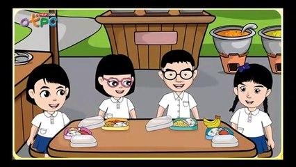 สื่อการเรียนการสอน การทักทาย การใช้ภาษาและการรับประทานอาหาร ป.3 สังคมศึกษา