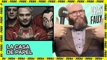 Rap français et saison 5 pour La Casa de Papel, le Vrai ou Faux de Helsinki [INTERVIEW]