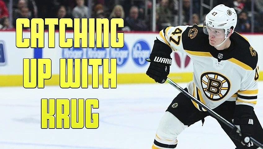 Torey Krug On Missing Bruins Teammates, Restarting NHL
