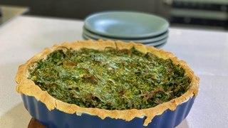 Pastel de verduras - Cocina con Conexión - Sonia Ortiz con Juan Farré