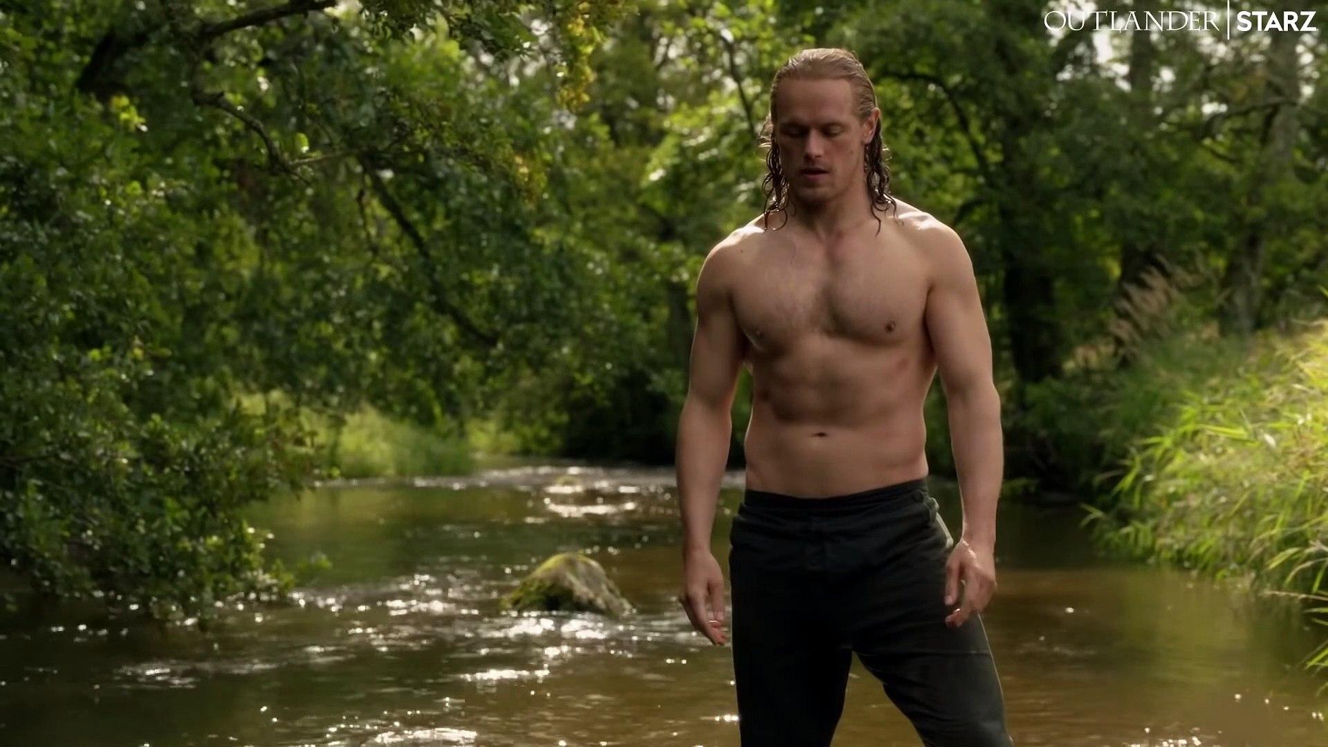 Outlander S05e07 Clip Jamie S River Ritual Video Dailymotion
