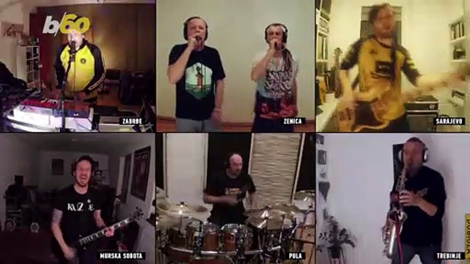 Bosnian Band Cheers Up Fans with Weekly Online 'Quarantine Show'
