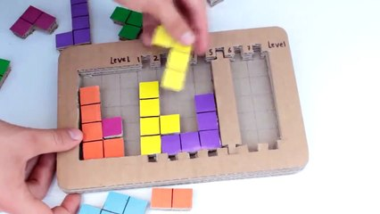 How to make your own TETRIS game - Mademan Crafts