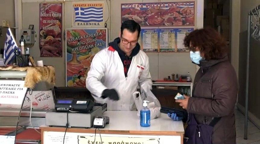 Περιορισμένα τα έσοδα σε κρεοπωλεία και βενζινάδικα
