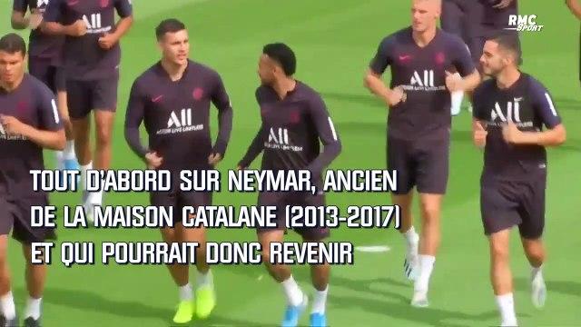 Mercato : Suarez envoie un nouveau message à Neymar (et apprécie la piste Martinez)