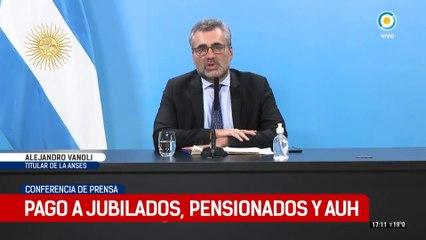 El director ejecutivo del ANSES Alejandro Vanoli habla sobre el IFE