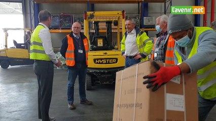 Le ministre Crucke en soutien à Liege Airport