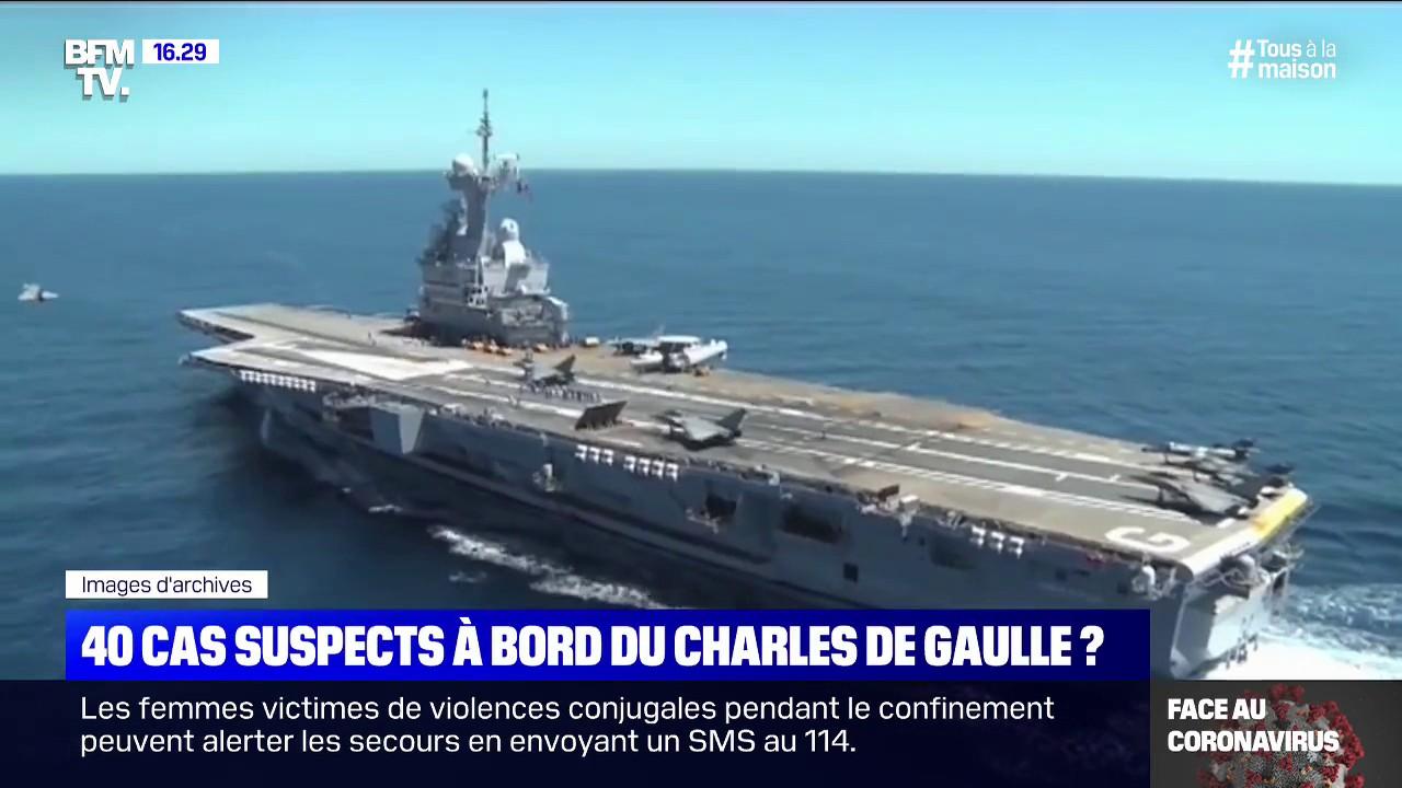 Une quarantaine de marins du Charles de Gaulle présentent des symptômes compatibles avec le coronavirus