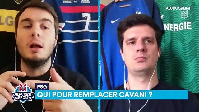 Pour remplacer Cavani, une opportunité en or tend les bras à Paris