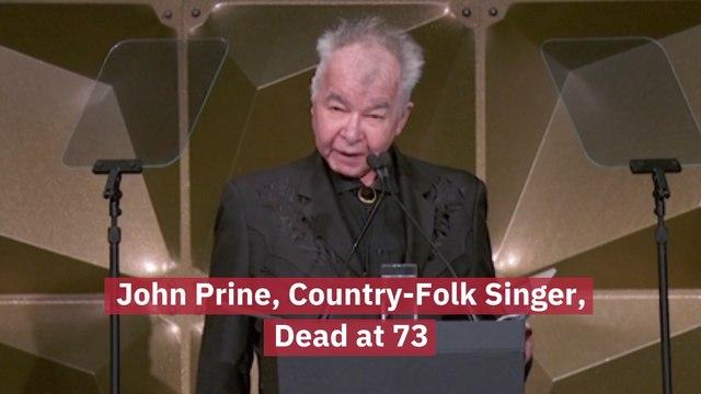 John Prine Has Died