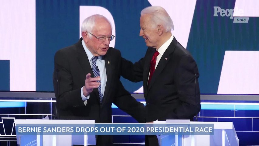 Bernie Sanders Drops Out of 2020 Presidential Race as Biden Gets Ready to Face Trump in November