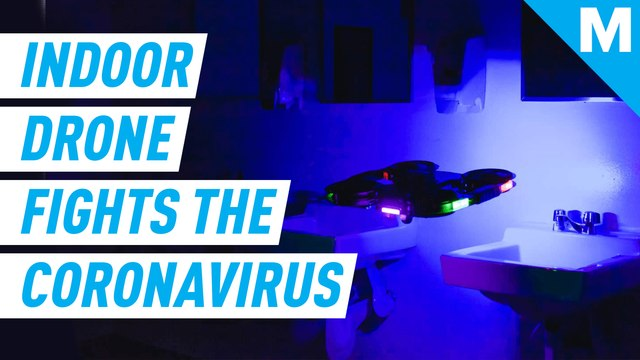 This indoor drone uses UVC light to help fight coronavirus — Future Blink