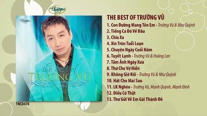 CD The Best of Trường Vũ (TNCD478)