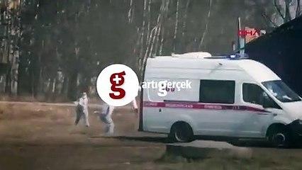 Koronavirüslü hasta kaçtı, sağlık çalışanları kovaladı