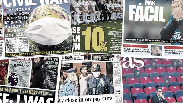 Les excuses de José Mourinho font les gros titres en Angleterre, le Barça a fait son choix entre Lautaro Martinez et Neymar