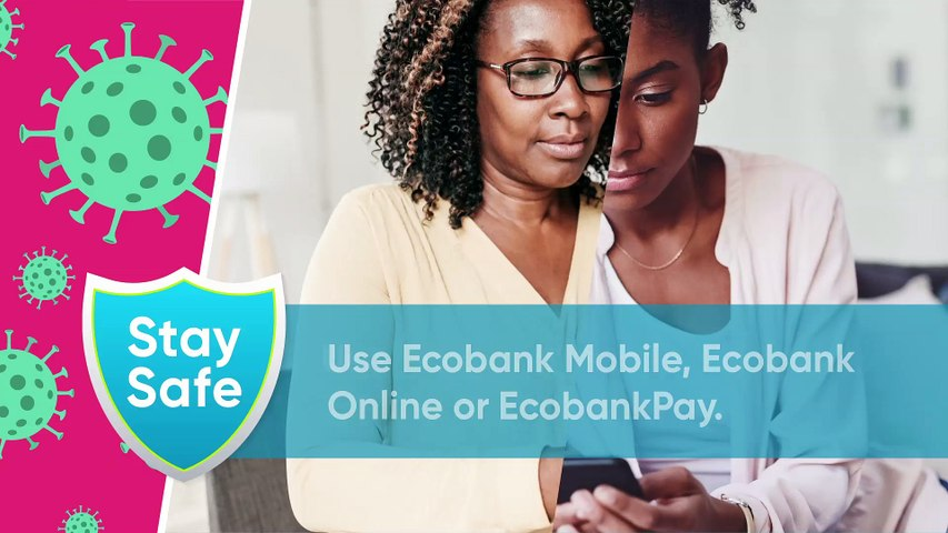 ECOBANK Cashless solution #StaySafe