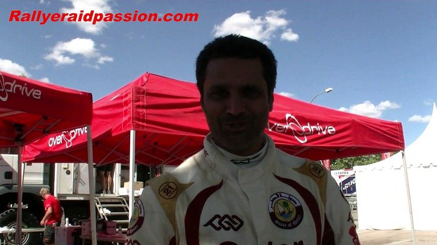 Nasser Al Attiyah avec Rallyeraidpassion.com