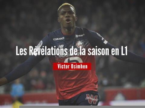 Les Révélations de la saison - Victor Osimhen