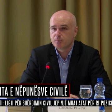 Pozita e nëpunësve civilë - RTV 21