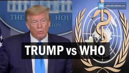 Trump Vs WHO