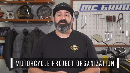 Motorcycle Project Organization How-To | MC Garage
