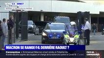Après avoir rencontré Didier Raoult pendant plus de 3h, Emmanuel Macron quitte l'IHU de Marseille