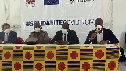 """Solidarité COVID-19 CIV/ Asalfo : """" Par amour pour son pays, Didier Drogba a mouillé le maillot sur le terrain et aujourd'hui il fait parler son cœur"""""""